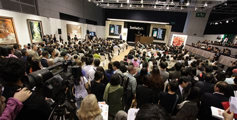 The Sle Room by Sotheby S 40th Anniversary Event Breaks Auction