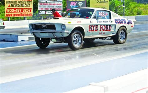68 ford mustang cobra jet company car 1968 ford mustang cobra jet with a li