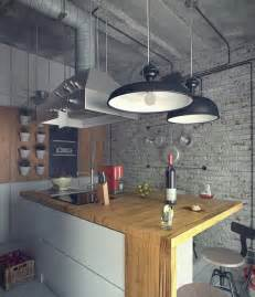 loft kitchen design white wood kitchen interior design ideas