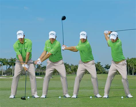 start of golf swing swing sequence kevin kisner australian golf digest