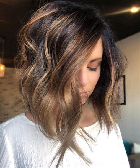 medium length hair color 10 trendy ombre and balayage hairstyles for shoulder