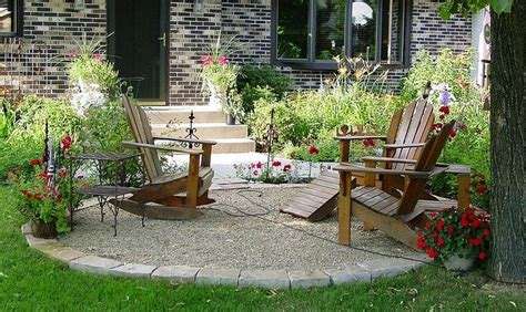 crushed rock patio ideas crushed rock sandstone patio