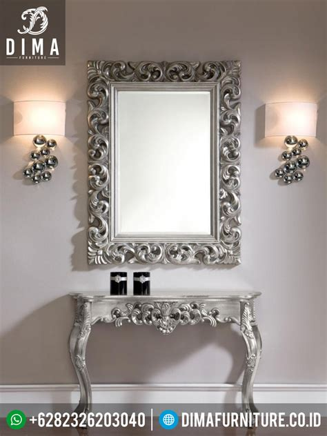 Cermin Hias Jati cermin hias minimalis mebel jepara terbaru set meja
