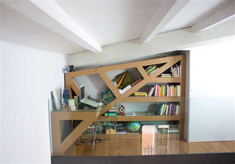 libreria e scrivania scrivania libreria in cartone alveolare kattuni arredi
