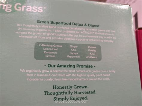 Costco Amazing Grass Detox And Cleanse by Amazing Grass Green Superfood Detox And Digest