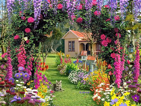 home flower beautiful flower garden wallpapers free 4k wallpapers