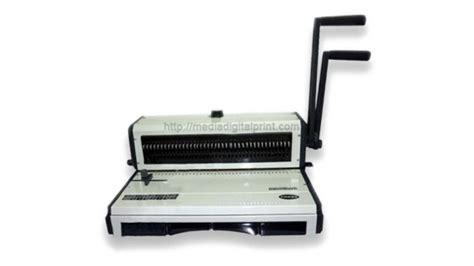 Jual Pemotong Kertas Tebal binder kawat folio ud wijaya supplier mesin cetak