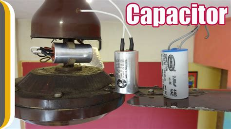 ceiling fan capacitor replacement how to change a ceiling fan capacitor by ur