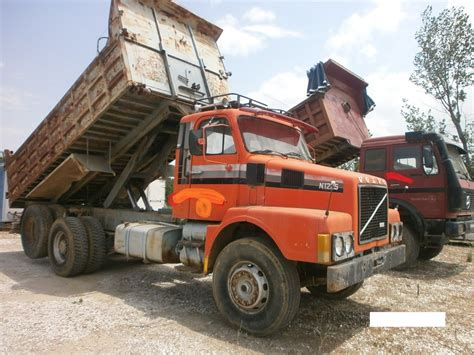 used volvo dump trucks volvo n1225 dump trucks for sale tipper truck dumper