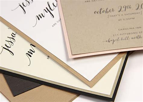 wedding invitations on cardstock linen sumi cardstock x tsumugi lb cov and templates