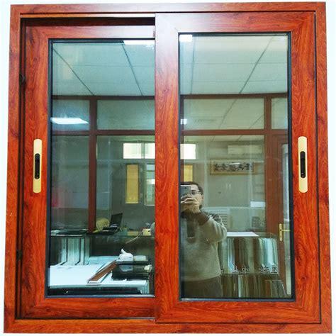 china wooden aluminum frame sliding door  window price
