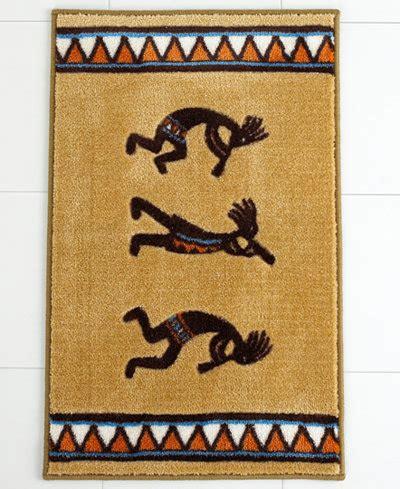 kokopelli rugs avanti bath rug kokopelli bathroom accessories bed bath macy s