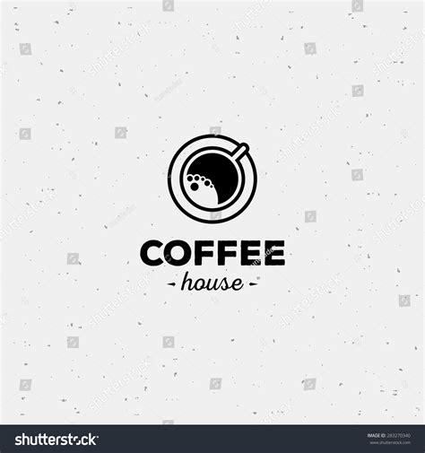 Coffee Cup Vector Logo Design Template Vector Coffee Shop Labels 283270340 Shutterstock Coffee Label Design Template