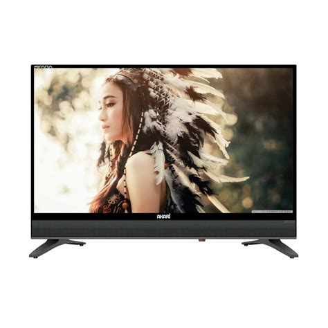 Akari Led Tv 24 jual akari le 20k88 tv led hitam 20 inch hd ready
