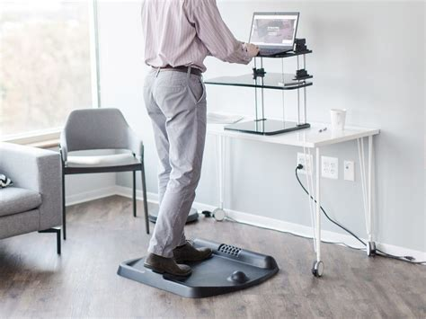 terramat standing desk mat the 80 terramat standing desk mat wants to energize your