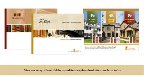 legacy cabinets a brochure