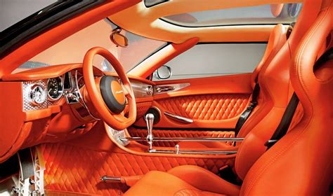 Spyker C8 Aileron interior photo on Automoblog.net