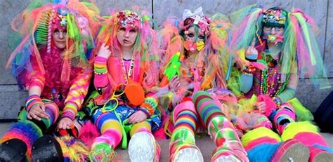 Colorful Duvets A History Of Rave Clothing Iedm Com