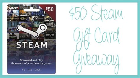 Steam Gift Card Giveaway - steam gift card giveaways philippines steam wallet code generator