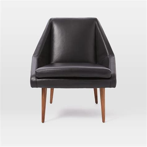 leather slipper chair west elm