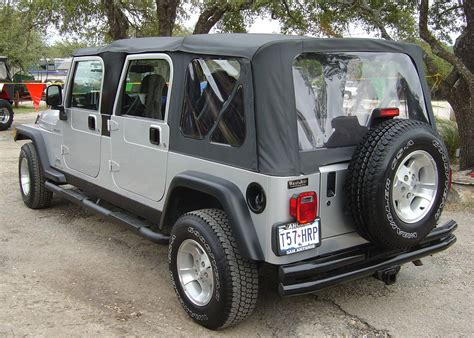 Jeep Yj Doors by 4 Four Door Jeep Wrangler
