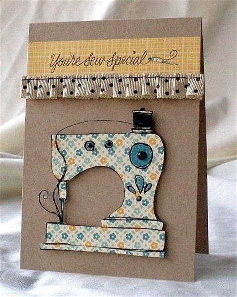 Sewing Machine Birthday Card