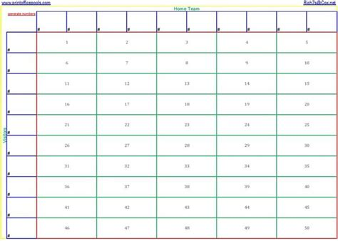 printable bowl block pool template search results for printable 100 square football pool