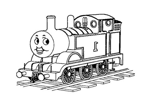simple thomas the train coloring pages coloring pages