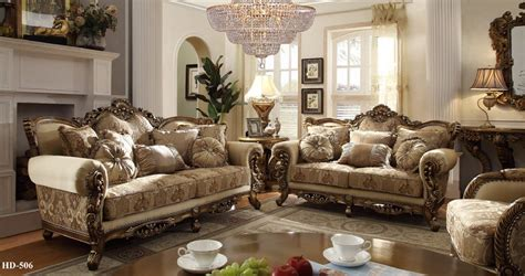 homey design upholstery living room set