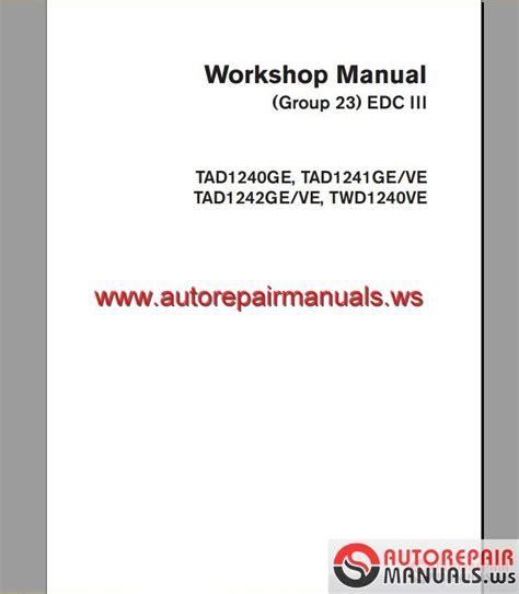 volvo edc wiring diagram repair wiring scheme