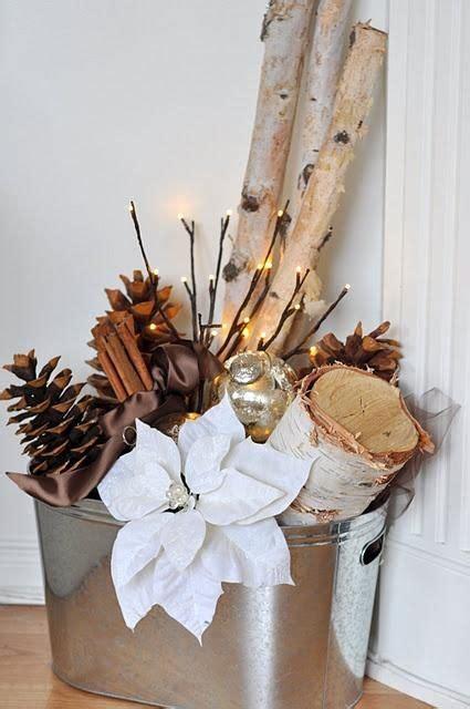 Aspen Branches Decorating by Decoracion Navide 241 A 2015 2016 Tendencias Navidad And
