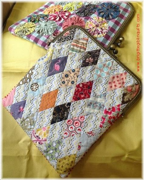 Clamshell Patchwork - best 25 quilted purse patterns ideas on