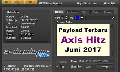 kartu axis hitz terbaru payload http proxy injector axis hitz terbaru juni 2017