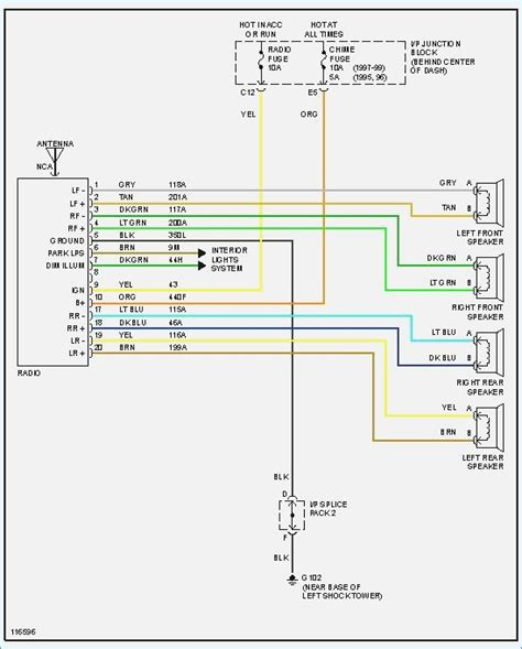 2000 saturn radio wiring harness color codes wiring