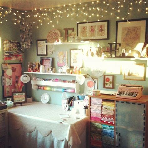 craft room lighting beautiful craft space by pinksuedeshoe on flickr