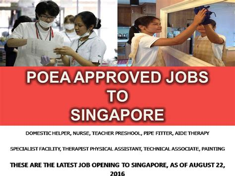 analog layout jobs in singapore jobs hiring for filipinos to work in singapore as of