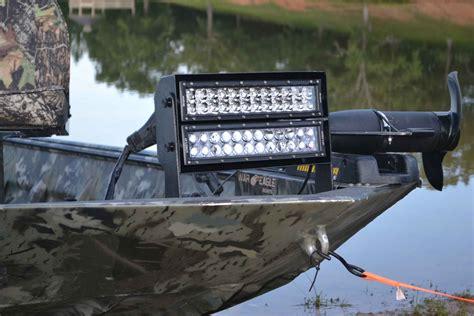led duck boat light bar led flashlight stealth stingray industries led llc