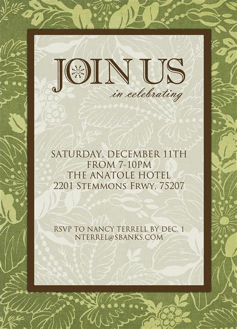 join us formal invitation invitations from