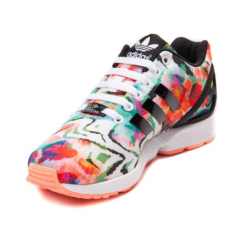 adidas for women womens adidas zx flux athletic shoe multi 436181