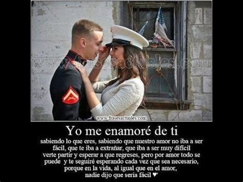 imagenes de amor a distancia para un militar una historia de amor militar youtube