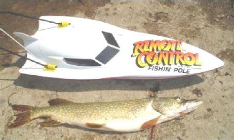 Remote control fishing