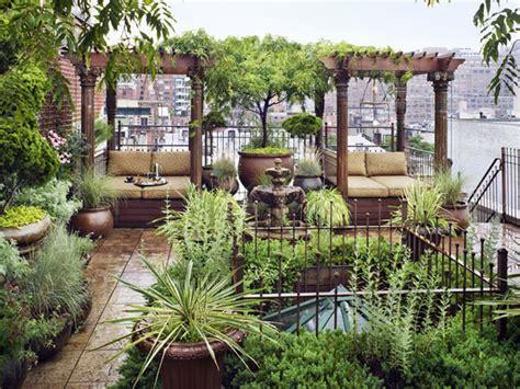 Outdoor Garden Nyc by Rooftop Gardens In New York Duplex