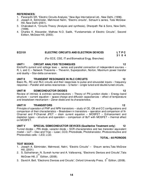 linear integrated circuits syllabus for ece 2013 regulation linear integrated circuits ec6404 syllabus 28 images linear integrated circuits syllabus for