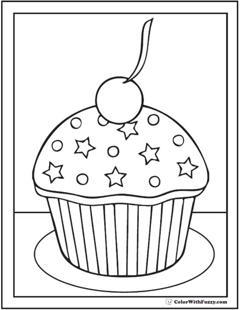 cake coloring pages pdf 55 birthday coloring pages customizable pdf