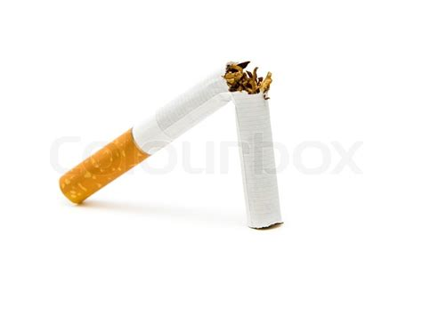 pictures with no background cigarette on a white background no stock photo