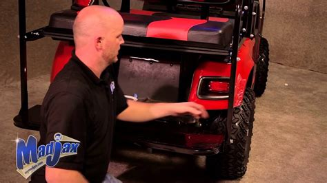 ez go golf cart rear seat installation light kit will fit e z go 174 txt 174 how to install
