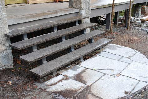 Exterior Concrete Cantilevered Stair Frontal 20 solid exterior concrete stairs design with pictures