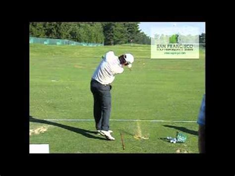 iron golf swing slow motion seung yul noh 7 iron us open 2011 slow motion golf swing