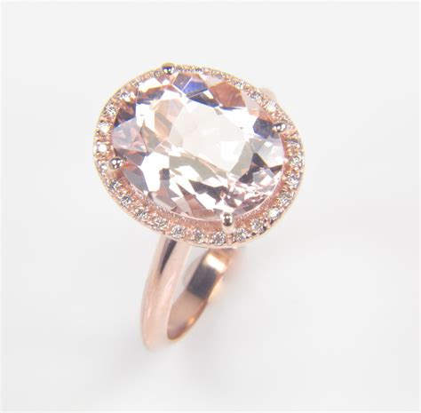 gold oval engagement rings gold engagement
