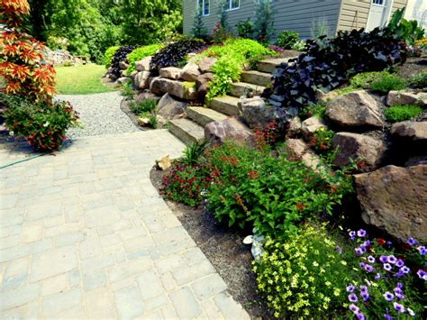 Creating Beauty And Structure With A Rock Wall Garden Rock Garden Tour